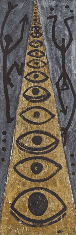 A.R. Penck, 'via corno ochio', 1994