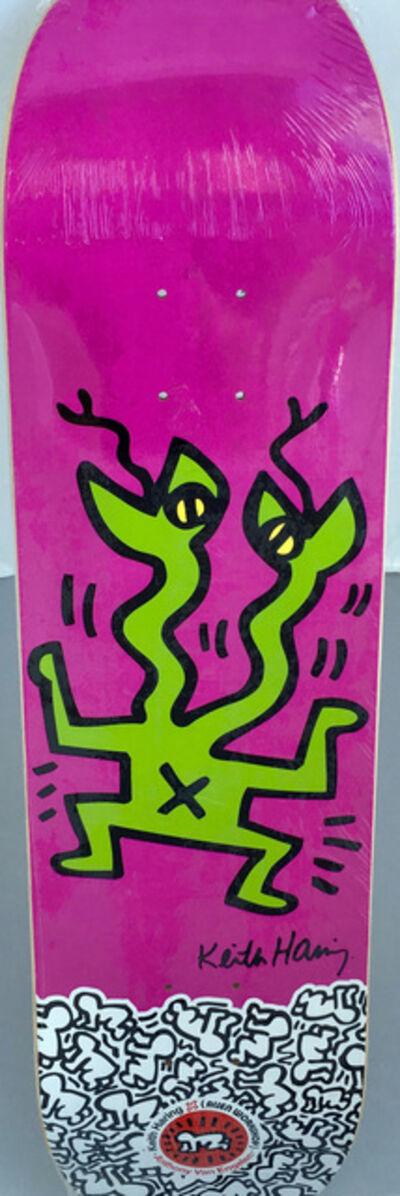 Keith Haring, 'Keith Haring Lizard Skateboard Deck ', ca. 2012