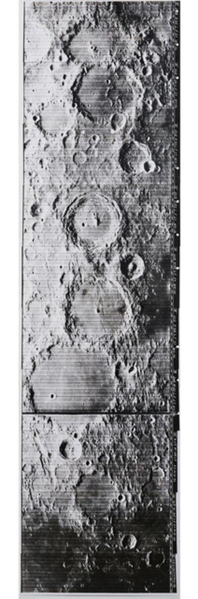 NASA, 'Lunar Craterscape', 1966-1967