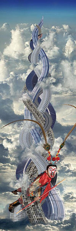 Chi Peng, 'Five Elements Mountain       ', 2007