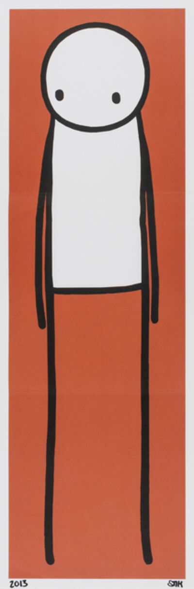 Stik, 'Standing Figure (Red)', 2013