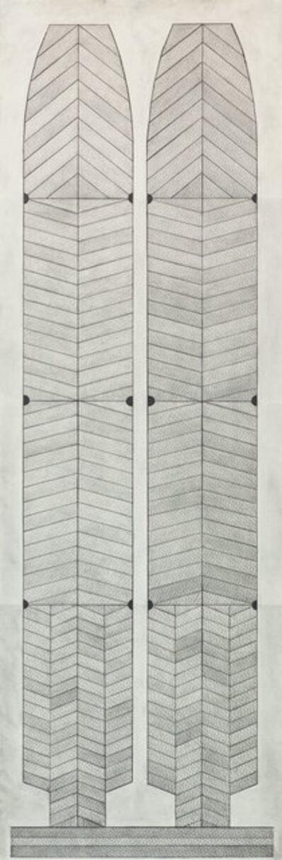 Garo Antreasian, 'Pale Shields', 1998