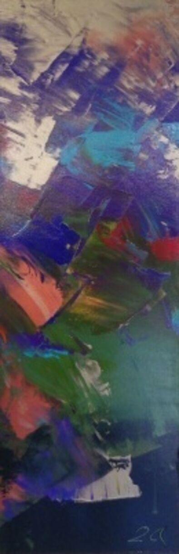 Jean Gabriel Lambert, 'Turquoise I'
