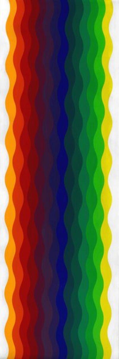 Julio Le Parc, 'Ondes 108, série 3, n° 1 (Waves 108, series 3, no. 1)', 1973