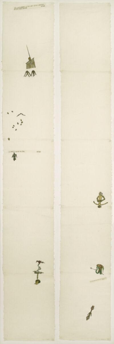 Nancy Spero, 'Codex Artaud XXVIIIa&b', 1972