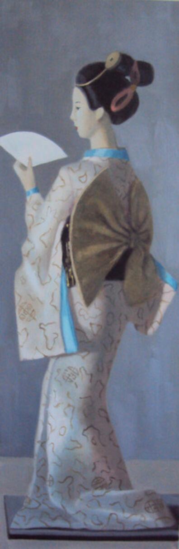 Olga Antonova, 'Geisha', 2021