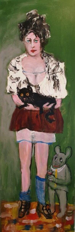 Zwy Milshtein, 'Jeannine's cat', 2017