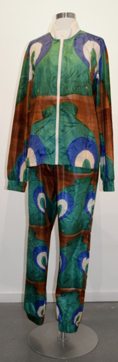 Cheryl Donegan, 'Tracksuit in Peacock, Extra Layer Collection', 2016
