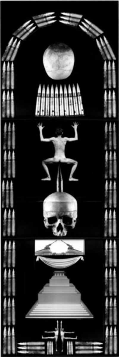 Zofia Kulik, 'Moon-Skull', 1995