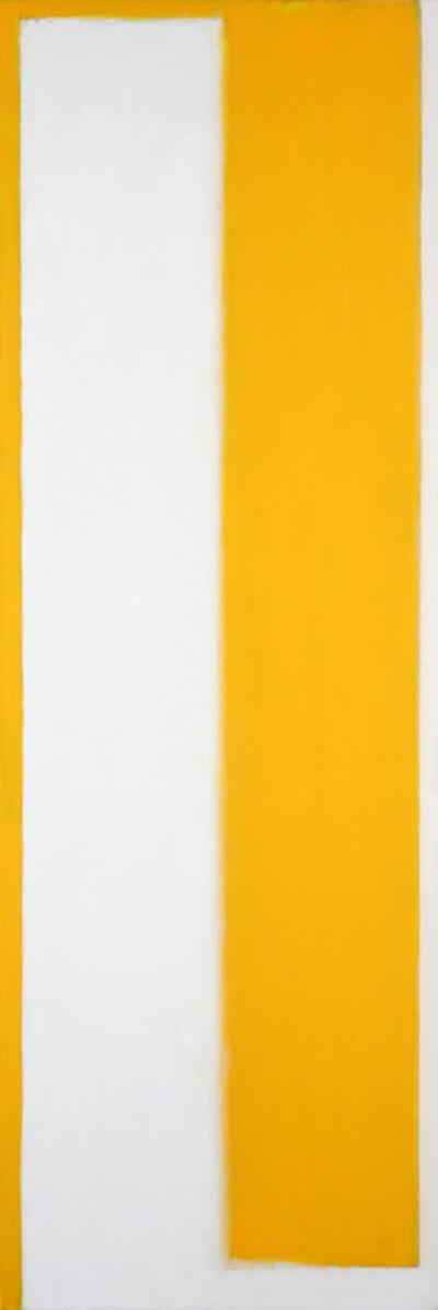 Peter Lodato, 'Yin & Yang (White Over Yellow)', 2020