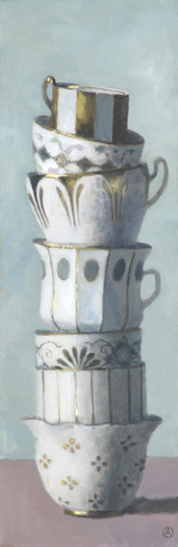 Olga Antonova, 'Gilded Cup Tower', 2016
