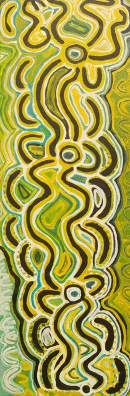 Lily Hargraves Nungarrayi, 'Witchetty Grub Dreaming', 2011
