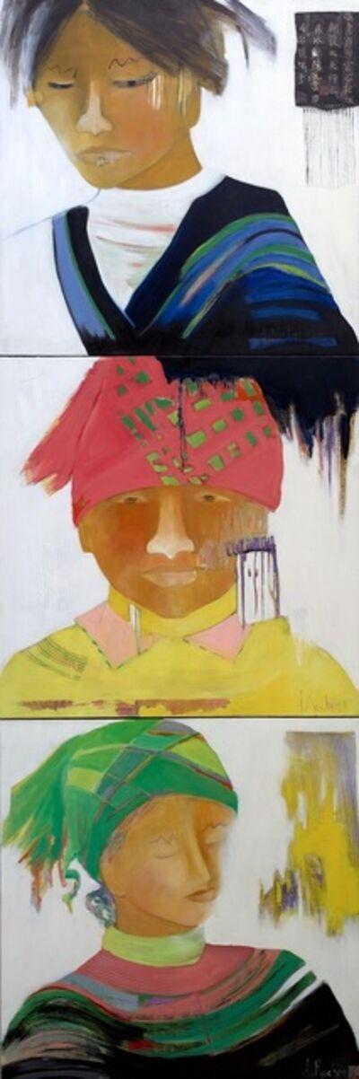 Renee DuRocher, 'Unicité -Uniqueness (triptych) ', 2018