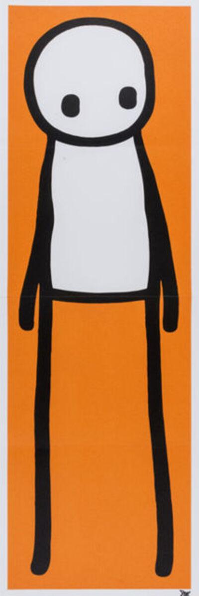 Stik, 'Orange Man', 2015