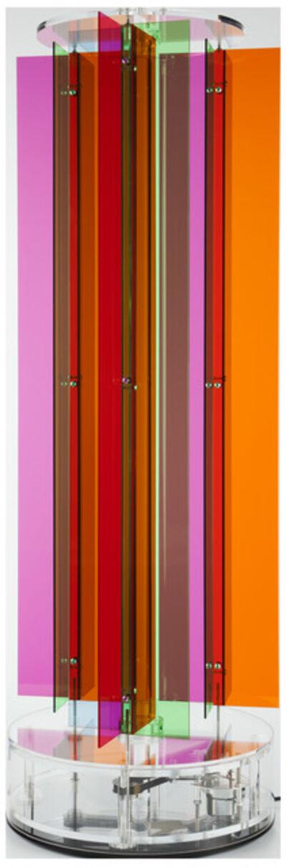 Carlos Cruz-Diez, 'Transchromie Méchanique Aléatoire A', 2009