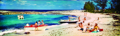 Hank Mayer, 'Colorama 21, Pirate's Cove, Paradise Island, Nassau, Bahamas', Displayed 1/10/66–1/31/66