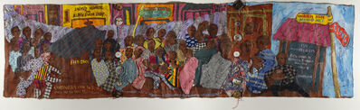 Aminah Brenda Lynn Robinson, 'Chronicles from the Village Series: The Birthplace Home of Granville T. Woods', 2011