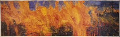 Leigh Wen, '火Fire Mural'