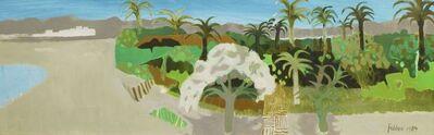 Mary Fedden, 'Garden at Aqaba, Jordan', 1989