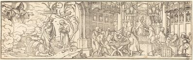 Hans Holbein the Younger, 'Traffic in Indulgences'