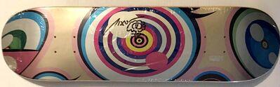 Takashi Murakami, 'Original Flower Drawing on skateboard (Hand signed)', 2017