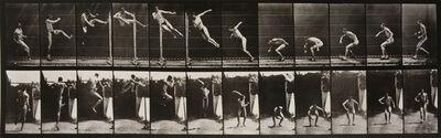Eadweard Muybridge, 'Animal Locomotion: Plate 158 (Men Performing a High Jump)', 1887