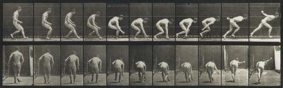Eadweard Muybridge, 'Stooping and lifting water-jar, pl. 225 * Baseball; running and picking up ball, pl. 287.', 1887