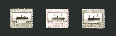 Donald Evans, 'Sabot. Poste Maritime.', n. d.