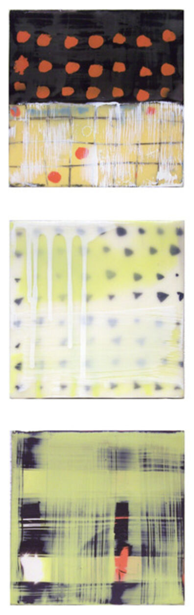 Suzanne Truman, 'Mini Patterned Triptych'