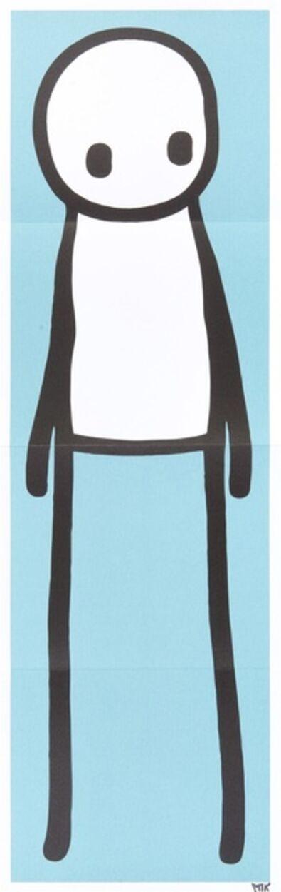 Stik, 'Standing Figure Teal', 2015