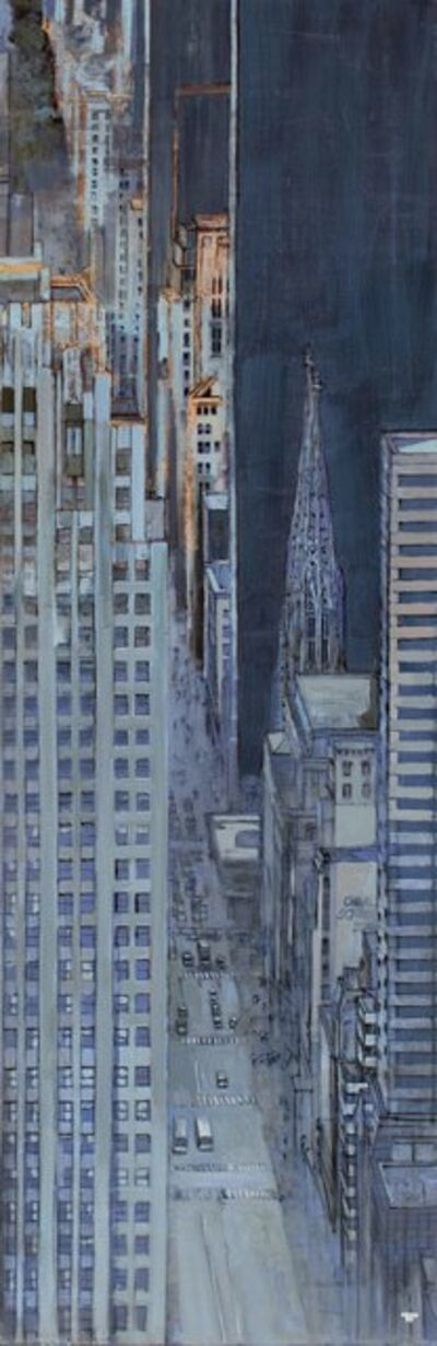 Patrick Pietropoli, 'Fifth Ave from The Top at Night'