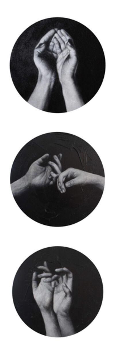Andy Llanes Bulto, 'De la serie: Ritual ( Ritual ) Triptych', 2018-2019
