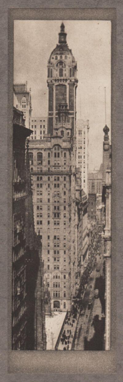 Alvin Langdon Coburn, 'The Singer Building, Noon', Neg. date: 1909 c. / Print date:1909