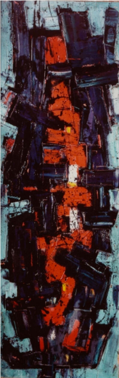 Frank Avray Wilson, 'Red Nucleating', 1955