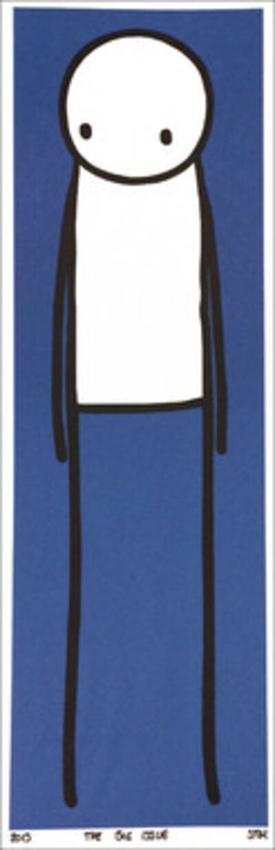 Stik, 'Big Issue (Blue)', 2013