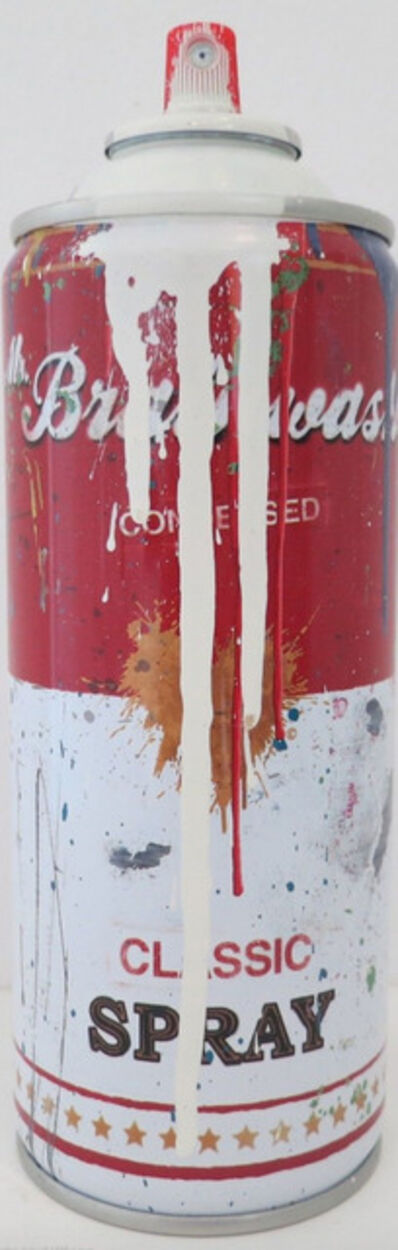 Mr. Brainwash, 'Campbell's Soup Spray Can (White)', 2013