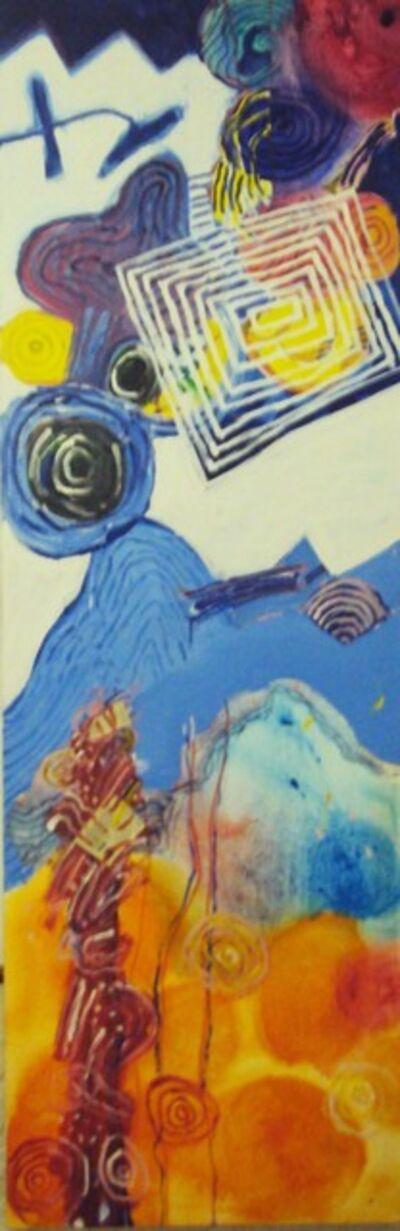 Luiz Áquila, 'A pintura e as células', 2009