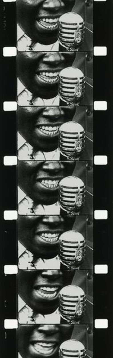 """Marvin E. Newman, 'Untitled (filmstrip of man singing, from """"The Church on Maxwell Street"""")', 1951"""