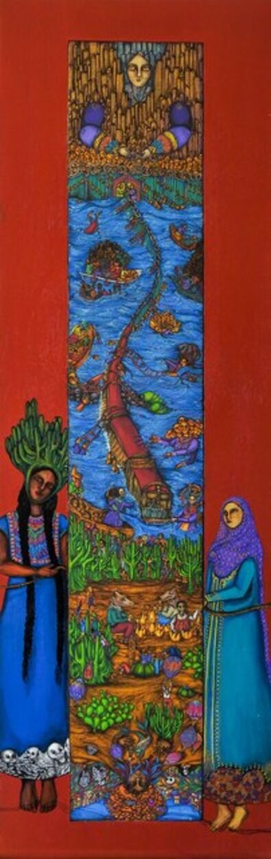Juana Sabina Ortega, 'Los que se van', 2016