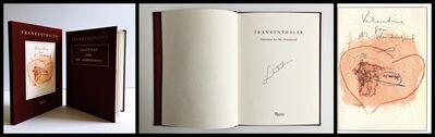 Helen Frankenthaler, 'Valentine for Mr. Wonderful (Hand Signed by Helen Frankenthaler)', 1996