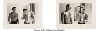 Duane Michals, 'Untitled (two photographs)', 1975