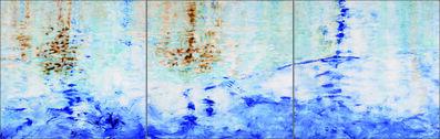 Betty Jo Costanzo, 'Crab Cove  #5 #6 #7 / oil on panel - triptych - Contemporary American Impressionism', 2018
