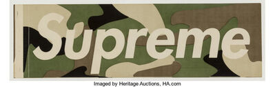 Supreme, 'Green Camo Sticker', c. 1995