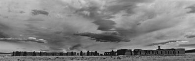 Cody S. Brothers, 'Black & White Panoramic Photograph: 'Enlisted Quarters Big Sky-Fort Union National Monument, NM'|', 2018