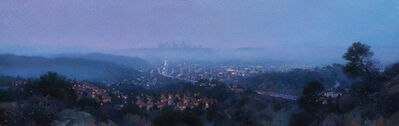 Ann Lofquist, 'City Lights from the Glendale Hills', 2017
