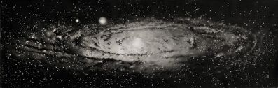 """Thomas Broadbent, '""""Andromeda"""" Galaxy Painting', 2018"""