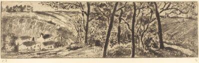 Camille Pissarro, 'Horizontal Landscape (Paysage en long)', 1879