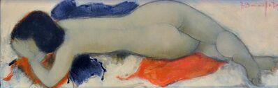 "Alain Bonnefoit, '""Sybille"" Oil on Canvas, by Alain Bonnefoit', 1995"