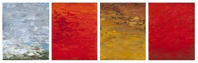 Carole Pierce, 'Elements: Air, Fire , Earth-Quadriptych', 2014-2015