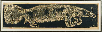 Jim Dine, 'Anteater', 1955